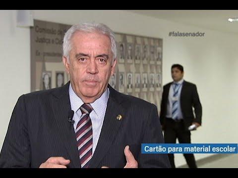 #falasenador: Otto Alencar fala sobre projeto que prevê Cartão Material Escolar