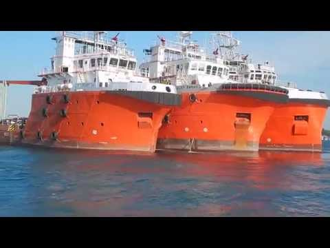 THE POWERFULL LIMIN MARINE SUPPLY VESSELS