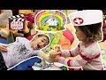 ДЕТИ ИГРАЮТ В ДОКТОРА на ДЕТСКОЙ ПЛОЩАДКЕ ПОЛИКЛИНИКА для ДЕТЕЙ mp3
