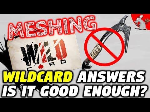 ARK Survival Evolved MESHING! WILDCARD...