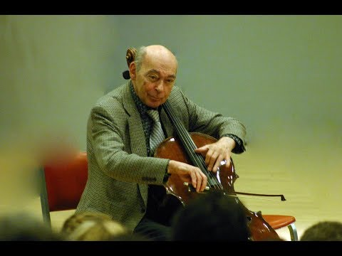 Janos Starker plays music of France
