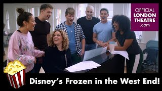Disney's Frozen The Musical is coming to the West End!