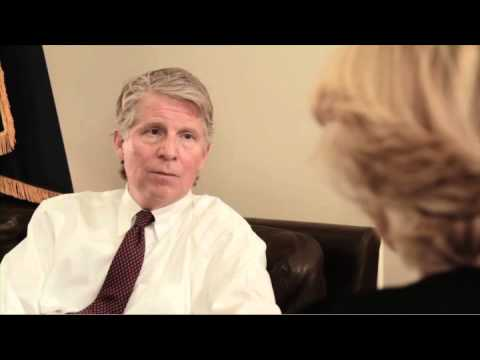 Elsie Vance and Cyrus Vance Jr. Discussing Vance Center and their Father