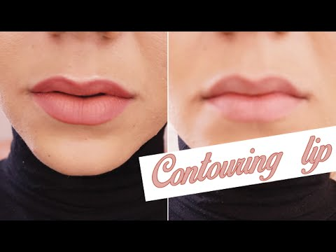 lip contouring tutorial comment faire un contouring des l vres colashood2 youtube. Black Bedroom Furniture Sets. Home Design Ideas