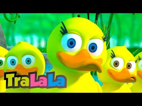 Cinci rățuște (Five Little Ducks) - Cântece pentru copii | TraLaLa