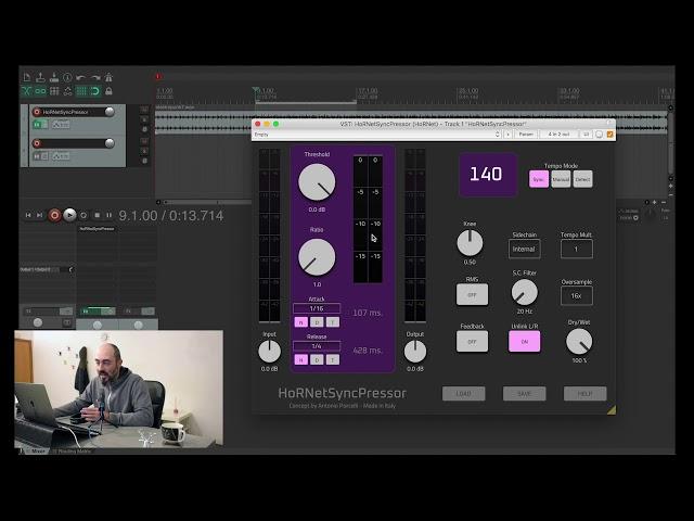 HoRNet SyncPressor overview