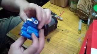 INTEX насос воздушный ремонт продолжение замена аккумуляторов