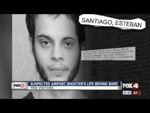 Jail records reveal more about Esteban Santiago, suspected Ft. Lauderdale airport shooter