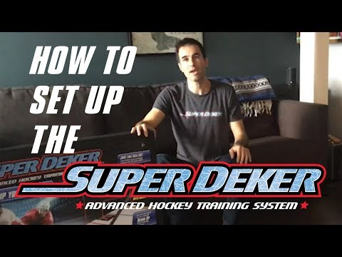 SuperDeker – Advanced Hockey Training System