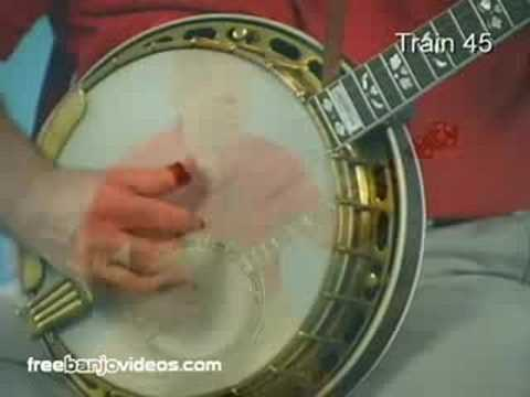 Train 45 Bluegrass Banjo