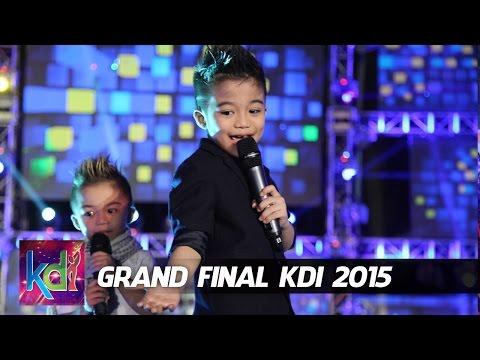 Affan - Haikal - Jojo dan Rian Idol Junior