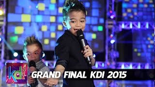 "Affan - Haikal - Jojo dan Rian Idol Junior "" Goyang Bang Jali "" Grand Final KDI 2015 (4/6)"
