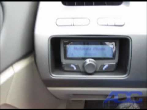 2010 Civic: Parrot CK3100 Bluetooth hands-free kit