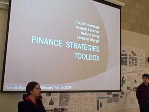 Finance Strategies Part 1 of 2