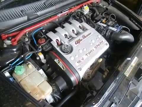 hqdefault wrecking 2001 alfa romeo 156 engine 2 0 5 speed (j14485) youtube alfa romeo 156 fuse box cover at bakdesigns.co