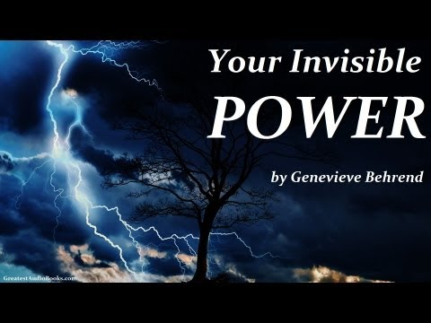 YOUR INVISIBLE POWER By Genevieve Behrend - FULL AudioBook | Greatest🌟AudioBooks