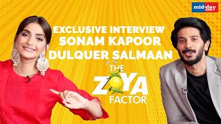 Sonam Kapoor and Dulquer Salmaan Talk About Their Luck Factor in Real Life | The Zoya Factor