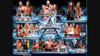 WWE Wrestlemania 25 Official Poster With Link (HD)