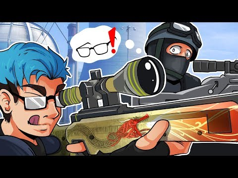 SNIPER ELITE!! - CSGO Strat Roulette Gameplay Funny Moments