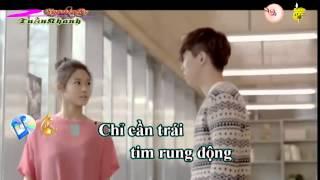 ( Karaoke HD ) Lắng Nghe Nước Mắt - MrSiro Full Beat 2015