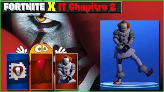 FORTNITE X IT CHAPTER 2 IT 2 c 2, SKIN EMOTE - THE CUBE ARRIVE A FATAL FIELD FORTNITE