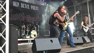 "HELLISH CROSSFIRE -Thrash Metal Germany Live 15.06.2019 - ""Der Detze Rockt"" Rengen/Germany"