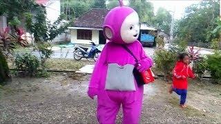 Download Mp3 Balonku Ada Lima Versi Melayu Upin & Ipin - Tinky Winky Teletubbies Badut Pe