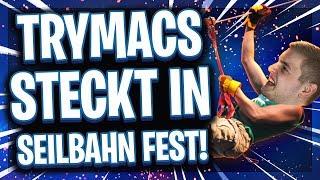 😂🧗♂️TRYMACS STECKT IN DER SEILBAHN FEST! | Witzigste Stream Highlights!