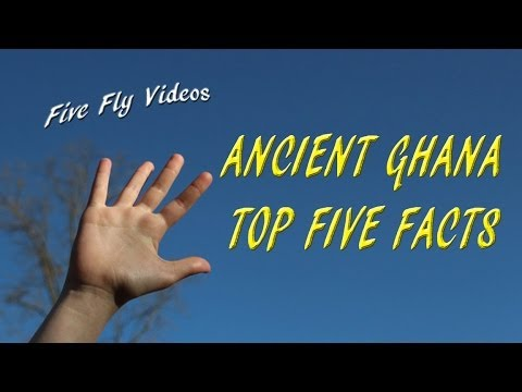 ANCIENT GHANA - Top Five Facts - Kingdom of Ghana