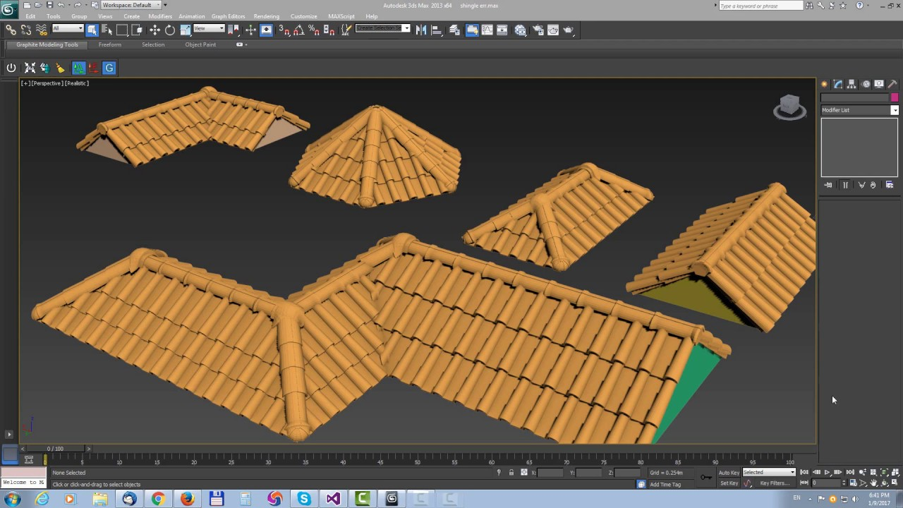 LWCAD 5 2 - Roofing tools (3dsMax-C4D)