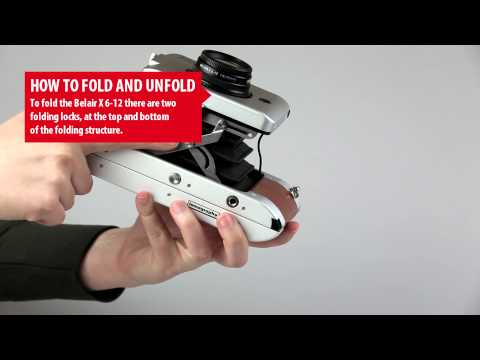 Belair X 6-12 - How to Fold and Unfold the Camera