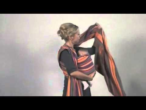 Μάρσιπος Carry Sling Amazonas (Τοποθέτηση χιαστή)