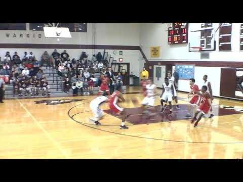 Delsea Varsity boys basketball vs Wildwood high school First Half