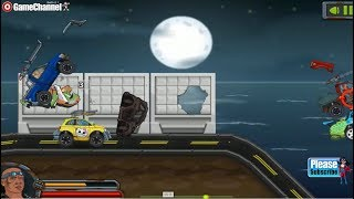 Max Fury Death Racer / Truck Racing Games / Browser Flash Games / Gameplay Video