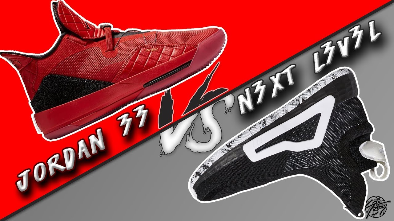 new product 39d11 ca67e Jordan 33 vs Adidas N3XT L3V3L! The Sole Brothers