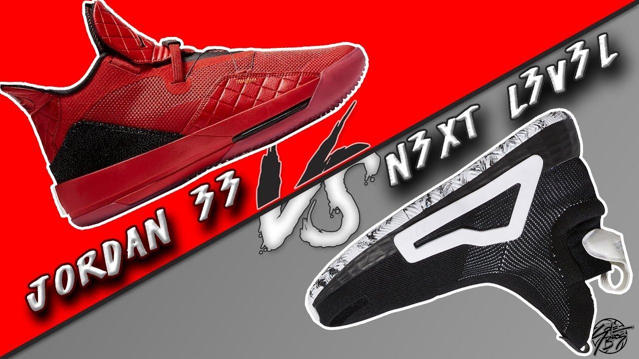 new product 6bc7d 707fd Jordan 33 vs Adidas N3XT L3V3L! The Sole Brothers