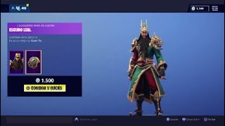 Skin * GUAN YU * Fortnite Battle Royale