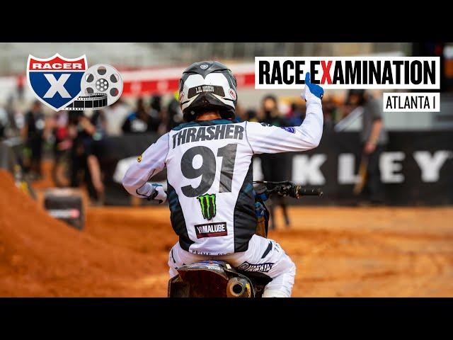 Sexton's Late Drama, Thrasher's First Win & More   Atlanta 1 Race Examination