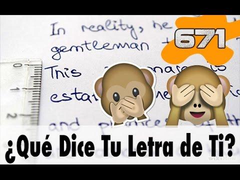 10 Cosas que tu Letra dice de Ti | 671 What the Fact! Datos Curiosos Datos Curiosos