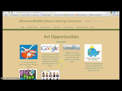 Athenian Middle School Virtual Learning Commons