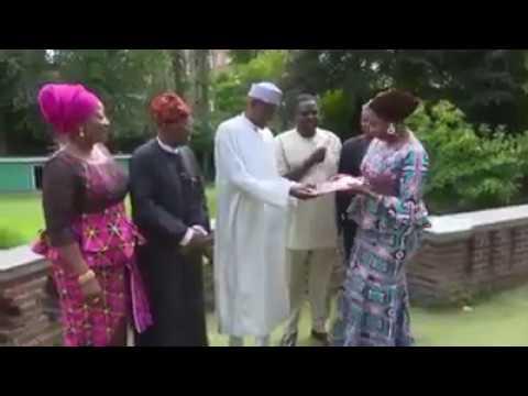 President Muhammadu Buhari hosts his media team in London   Punch
