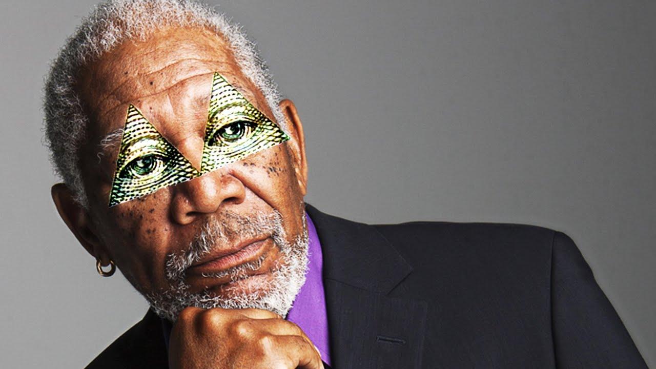 Morgan Freeman Is Illuminati Youtube