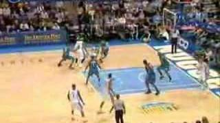 Allen Iverson 35pts clutch game winner vs Timberwolves 07/08