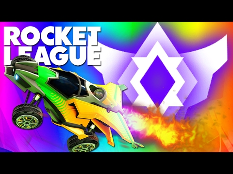 1v4 Match Against PRO PLAYER Rizzo! (Rocket League)