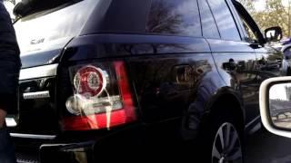 Мажоры на Range Rover сбили ограждение возле вокзала в Одессе