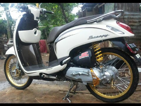 scoopy modif simple terkeren