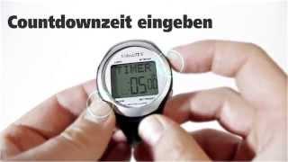 Produktvideo zu VibraLITE 8 - Vibrationsuhr mit Silikonarmband Schwarz