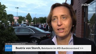 """Beatrix von Storch: """"Das Ergebnis der Grünen ist irrelevant"""" (#EuropaWahl2019)"""