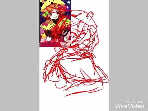 [ SpeedPaint ] Witch's heart FA Charlotte