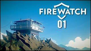 Firewatch #01 - Willkommen im Wald [Gameplay German Deutsch] [Let